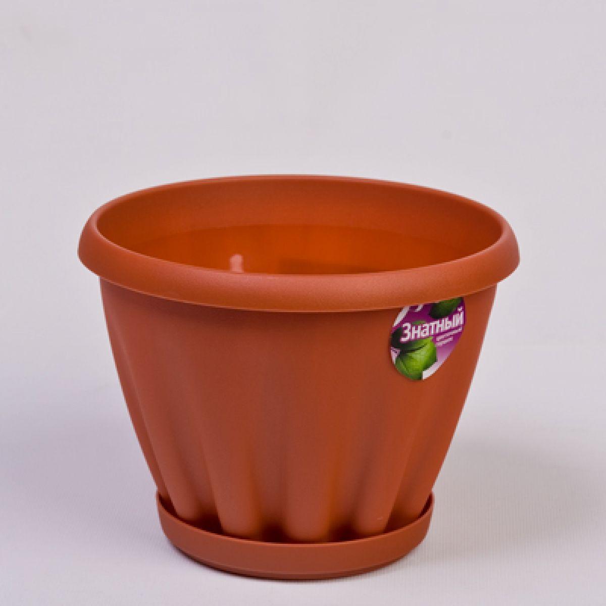 Пласт горшок для цветов